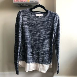 LOFT Faux Layer Sweater